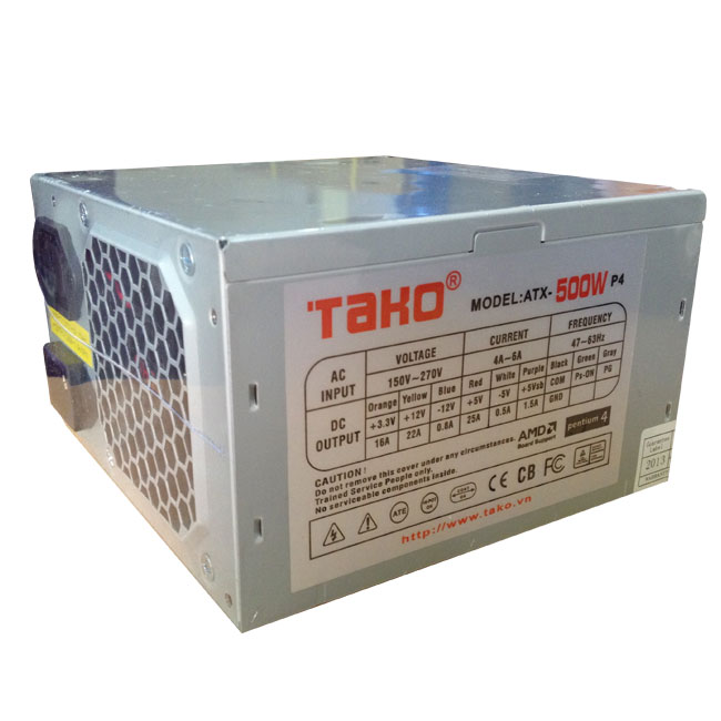 Nguồn ATXP4 – TAKO 500W