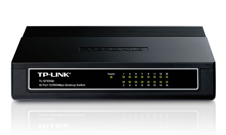 Switch TP Link 10/100 - 16 Port TL-SF1016D