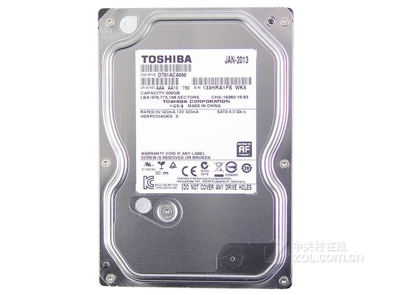 HDD TOSHIBA 500GB - SATA3, 7200RPM, 32MB_DT01ACA050