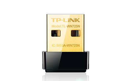 Bộ chuyển đổi USB Nano chuẩn N không dây tốc độ150Mbps TL-WN725N