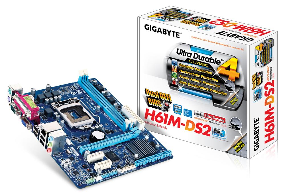 Bo mạch chủ GIGABYTE GA H61M-DS2 rev 3.0